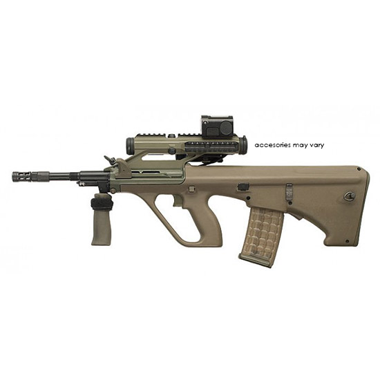 Steyr AUGM1MUDH AUG A3 M1 Semi-Automatic 223 Remington|5.56 NATO 16 30+1 High Rail Synthetic Tan Stk Black in.