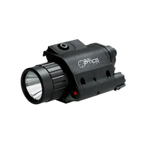 Sun Optics Light|Red Laser Combo 750 Lumen