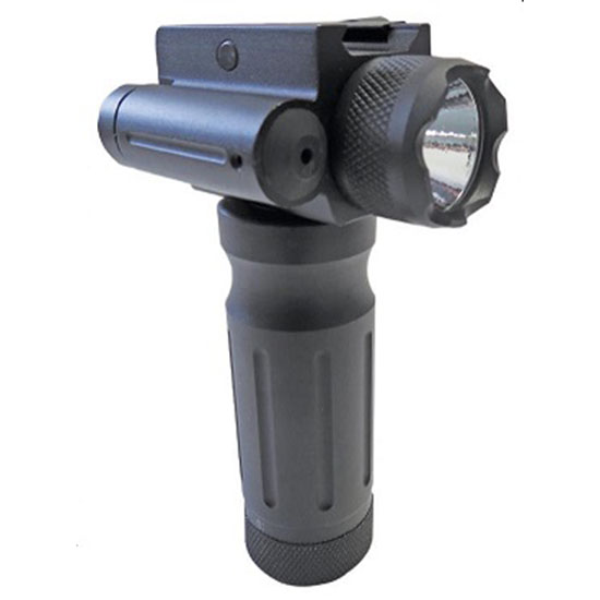 Sun Optics Tactical Fore End Grip Green Laser and LED Flashlight