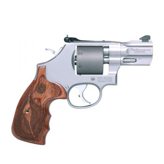 Smith & Wesson 10227 986 Performance Center Single|Double 9mm 2.5 7 Wood Stainless in.