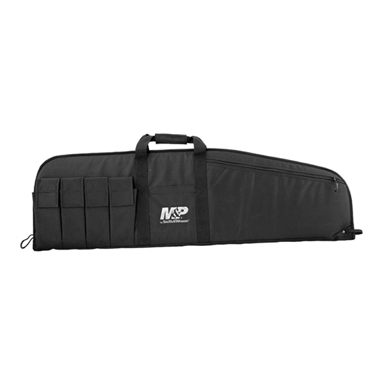 M&P Accessories 110015 Duty Series Medium Rifle|Shotgun Case Nylon Smooth