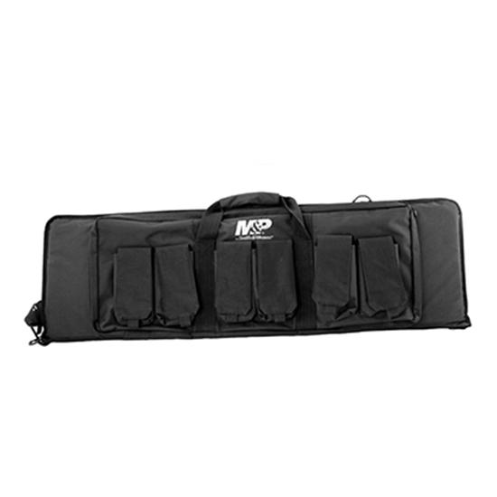 M&P Accessories 110025 Pro Tac Rifle|Shotgun Case Nylon Smooth 42 x 13 in.  x 3 in.  in.