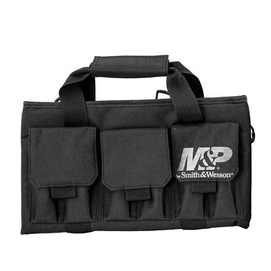 M&P Accessories 110028 Pro Tac Single Handgun Gun Case Nylon Smooth