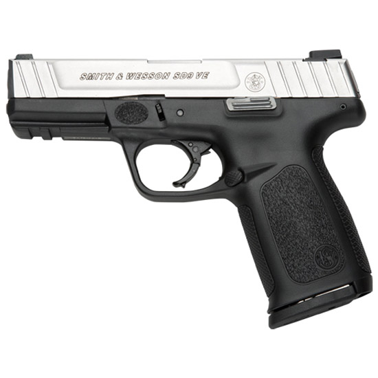 Smith & Wesson 123900 SD VE Double 9mm 4 10+1 Black Polymer Grip|Frame Stainless Steel in.
