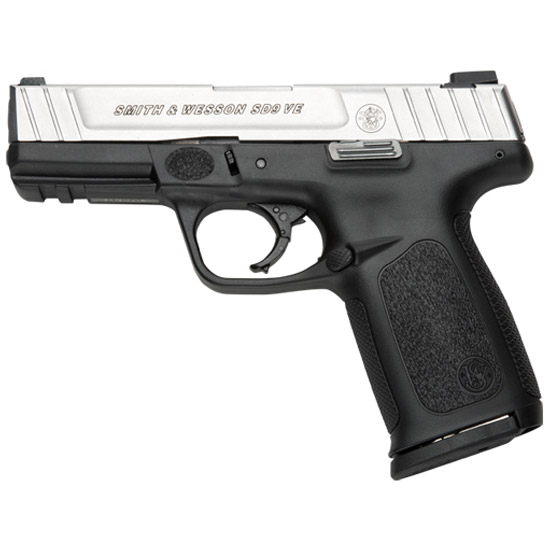 Smith & Wesson 123902 SD VE *MA Compliant* Double 9mm Luger 4 10+1 Black Polymer Grip Stainless Steel in.
