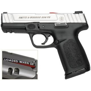 Smith & Wesson 123903 SD VE *CA Compliant* Double 9mm Luger 4 10+1 Black Polymer Grip Stainless Steel in.