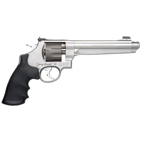 Smith & Wesson 170341 929 Performance Center Single|Double 9mm Luger 6.5 8 rd Black Synthetic Grip Stainless Steel in.