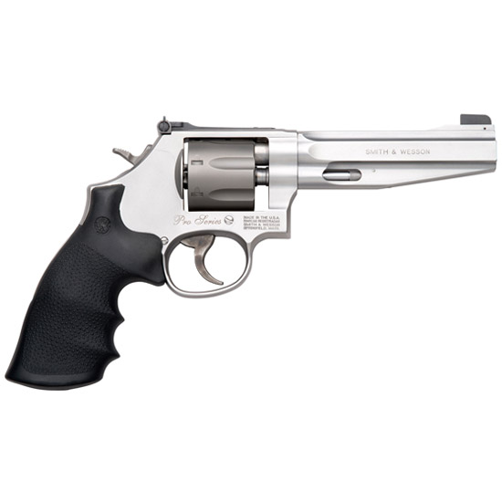Smith & Wesson 178055 986 Performance Center Single|Double 9mm Luger 5 7 rd Black Synthetic Grip Stainless in.