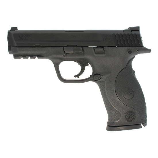 Smith & Wesson 220070 M&P 9 Crimson Trace Lasergrip 9mm Luger Double 4.25 17+1 Black Polymer|Crimson Trace Laser Grip Polymer Frame Black Stainless Steel Slide in.