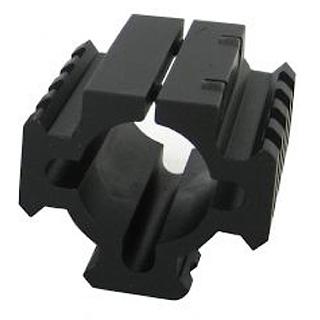 TacStar 1081100 Shotgun Rail Mount Shotgun Rail Short 1.8  Black in.
