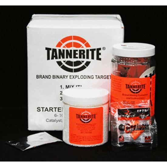 Tannerite STR Starter Kit 1 2lb Exploding Targets 6 Pack 4 Case