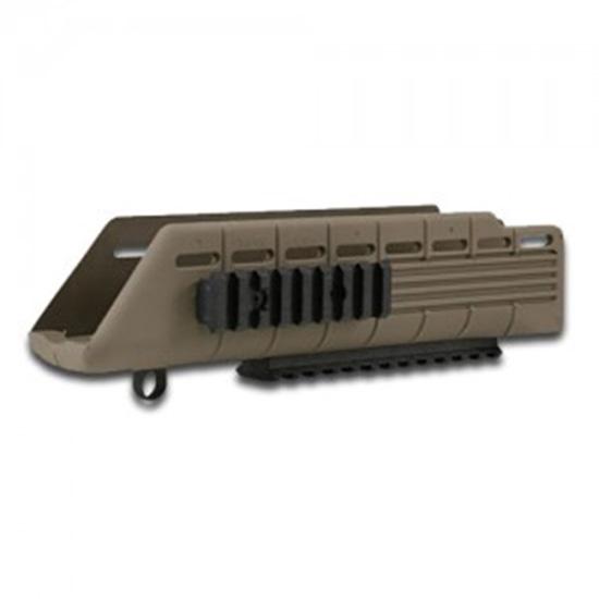Tapco STK07320 Saiga Handguard with Rails FDE