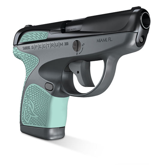Taurus 1007031216 Spectrum 380 380 Automatic Colt Pistol (ACP) Double 2.8 6+1|7+1 Gray Polymer Frame Mint Synthetic Grip Black Carbon Steel Slide in.