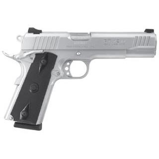 Taurus 1191109 1911 Standard 45 ACP 5 8+1 w|Heinie Sight Black Grip Stainless in.