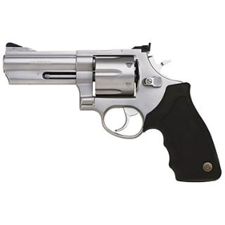 Taurus 2440049 44 Ported Single|Double 44 Remington Magnum 4 6 rd Black Rubber Grip Stainless Steel in.