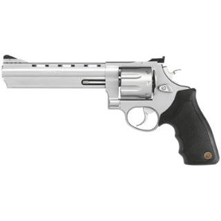 Taurus 2440069 Model 44  44RemMag 6.5 Ported 6rd Rubber Grip Matte Stainless in.