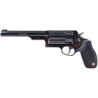 Taurus 2441061MAG 45|410 Judge Tracker Magnum Revolver 45 Colt (LC)|410 6.5 5 Rd Black Rubber Grip Black in.