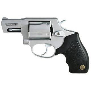 Taurus 2605029 605 Standard Single|Double 357 Magnum 2 5 Black Rubber Stainless in.
