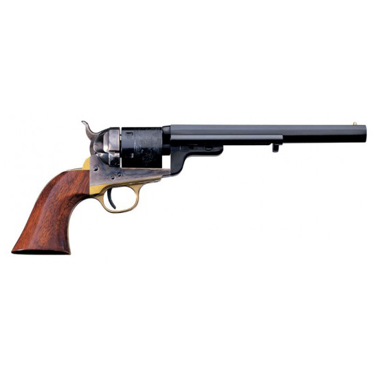 Taylors and Company 0925 1851 Navy C. Mason Single 38 Special 7.5 6rd Walnut Grips Blued in.