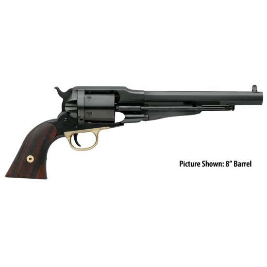 Taylors and Company 1010 1858 Remington Conversion Single 38 Special 7.3 6rd Walnut Grips Blued in.
