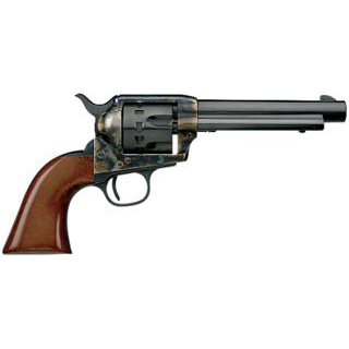 Taylors and Company 4052 1873 Cattleman Single Action Revolver 22 Long Rifle (LR) 5.5 12 Rd Walnut Grip Color Case Hardened Frame|Blued Barrel in.