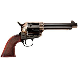 Taylors & Co. 4110 The Smoke Wagon Standard Edition, .45 LC, 5 1/2 in.  Barrel, 6 Rounds, Checkered Walnut Grips/Blued