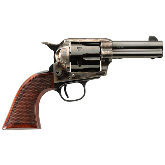 Taylors & Co. 4201 Runnin' Iron .45 Long Colt, 3 1/2 in.  Barrel, 6 Rounds, Checkered Walnut Grips/Blued
