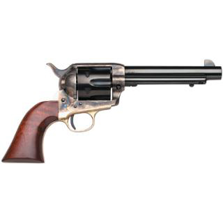 Taylors 440 1873 Ranch Hand 357 Magnum 4.75 6rd Walnut CH Frame Blued in.