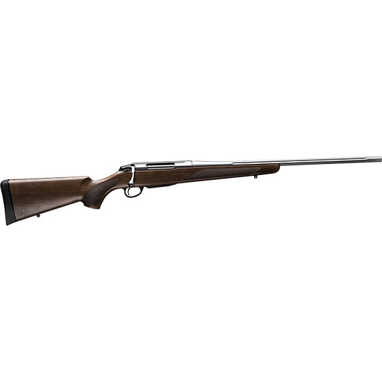 Tikka T3 JRTXA715 T3x Hunter Bolt 243 Winchester 22.4 Fluted 3+1 Wood Stk Stainless Steel in.