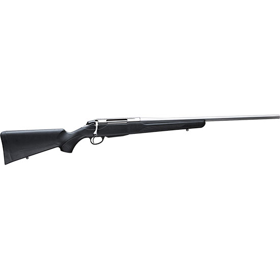 Tikka T3 JRTXB414 T3x Lite LH Bolt 22-250 Remington 22.4 3+1 Synthetic Black Stk Stainless Steel in.
