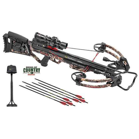 TenPoint Technologies Phantom RCX Camo Crossbow Set W/ Range Master Pro Scope