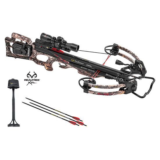 TenPoint Crossbow Technologies CB17017-4821 Eclipse RCX Package SCUdraw 50, 3x Pro View 2 Scope. Realtree Xtra