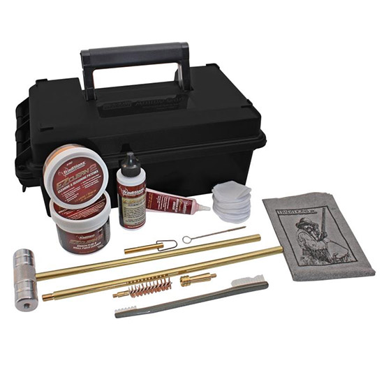 Traditions Deluxe Shooter's Kit w| Range Box Black .50