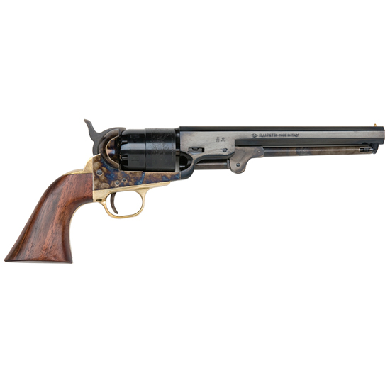 Traditions 1851 Navy Black Powder Revolver Blued .44 Caliber 7.5-inch 6Rds