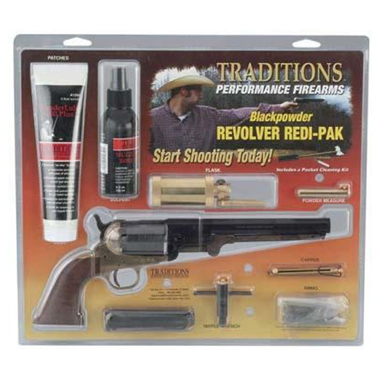 Traditions 1858NEW Army 44BRASS RedIPK