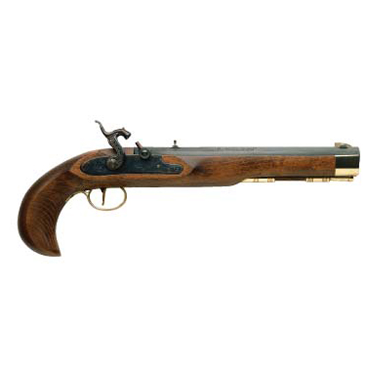 Traditions Kentucky Pistol Blued .50 Caliber 10-inch 1Rd