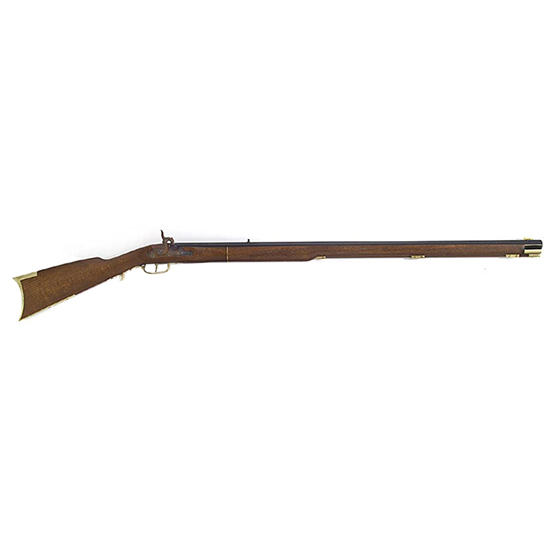 Traditions Kentucky Percussion Rifle 50 Caliber 33.5 Inch Octagonal Barrel Caliber Hardwoods With Brass Trim