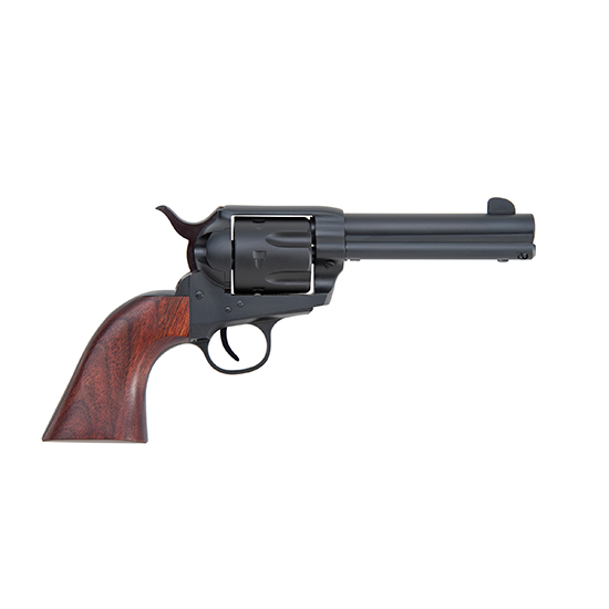 Traditions SAT73260 1873 Single Action Rawhide 45LC 4.75 Walnut Grip Blk in.