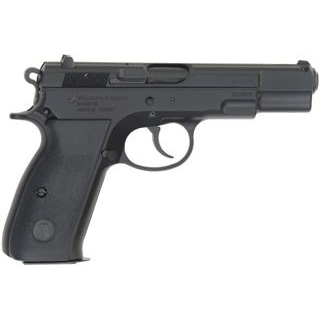 TriStar 85060 S-120 Steel Single|Double 9mm Luger 4.7 17+1 Black Polymer Grip Black Cerakote in.