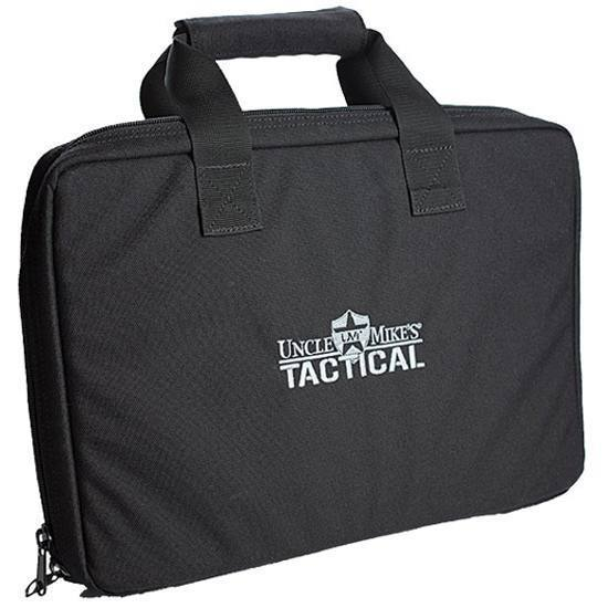 Uncle Mikes TACTICAL Pistol BAG BLK