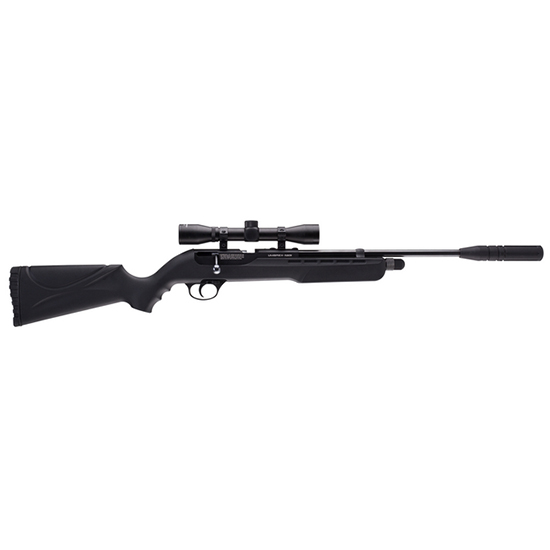 Umarex USA 2251306 Fusion Air Rifle Bolt .177 Pellet CO2 4x32mm Scope Black