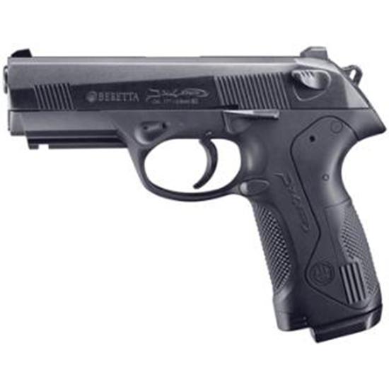 RWS 2253004 Beretta Px4 Air Pistol Semi-Automatic .177 Pellet|BB Black