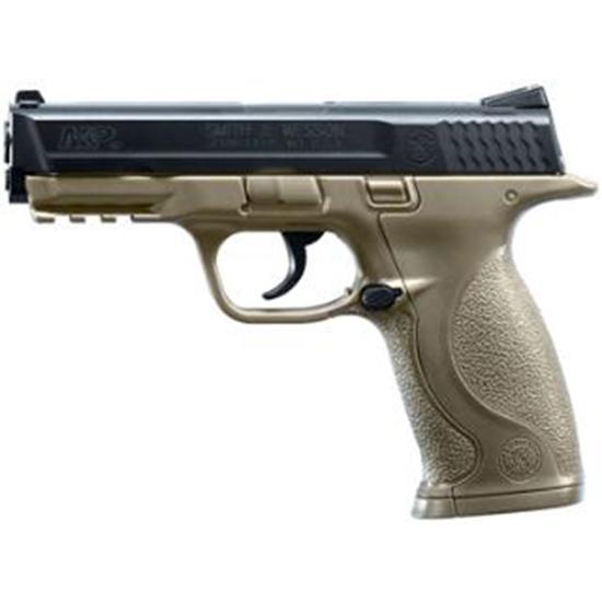 Umarex USA 2255051 Smith & Wesson M&P Air Pistol Double .177 BB Brown|Black