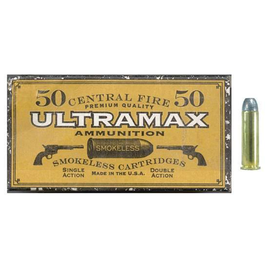 Ultramax CB357N2 357 Magnum 158 Grains, Lead Round Nose Flat Point, Per 50