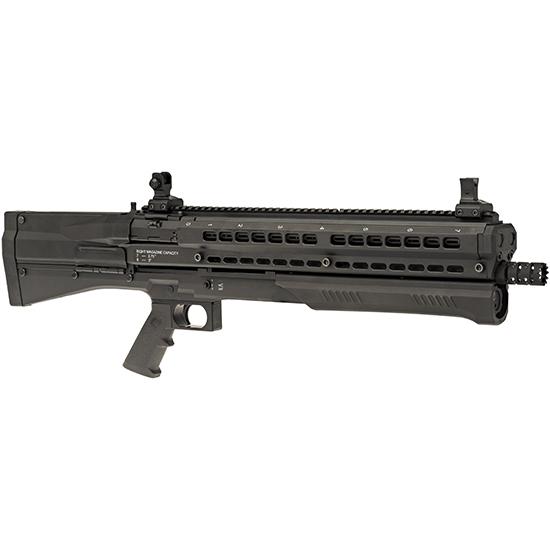 UTAS-USA PS1CM1 UTS 7+7 Black Compliant Pump 12 Gauge 18.5 3 in.  14+1 Synthetic Black Stk Black in.