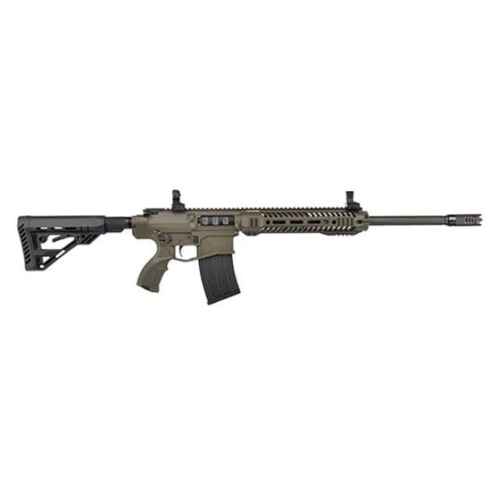 UTAS-USA XTR12OD1 XTR-12 Semi-Automatic 12 Gauge 5+1 5-Position Synthetic w|Pistol Grip Black OD Green Cerakote