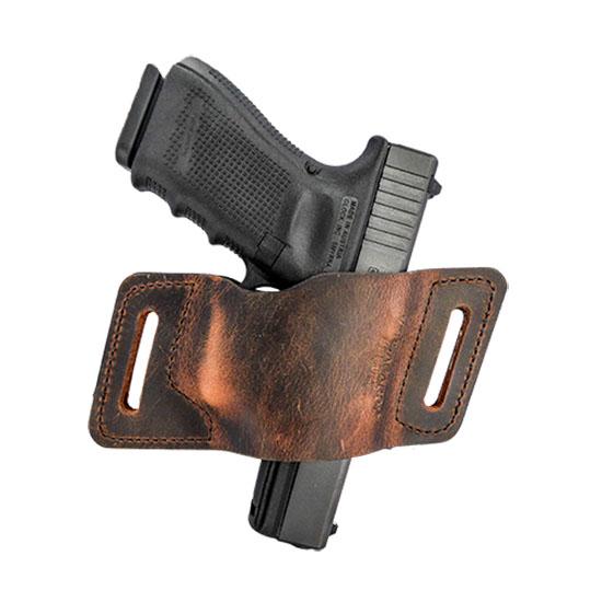 Versacarry WBAOWB23 QuickSlide Size 3 Glock 42|43 Water Buffalo Brown
