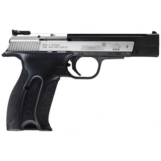 Hammerli X-Esse Short Black / Stainless .22 LR 4.5-inch 10Rds Adjustable Sights