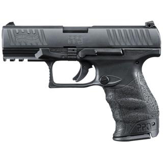 Walther Arms 2796074 PPQ M2 40 Smith & Wesson (S&W) Double 4.2 11+1 Black Polymer Grip|Frame Grip Black Tenifer Slide in.