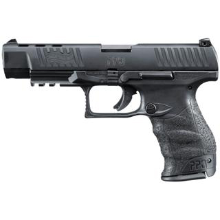 Walther Arms 2796104 PPQ M2 40 Smith & Wesson (S&W) Double 5 11+1 Black Polymer Grip|Frame Grip Black Tenifer Slide in.